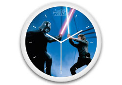 Star Wars <br>reloj de pared