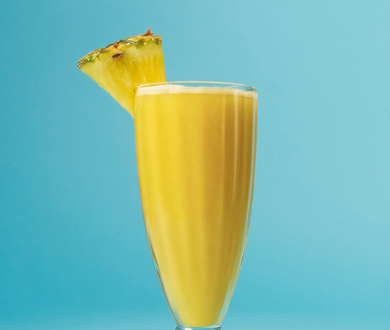 Smoothie Yellow and Happy