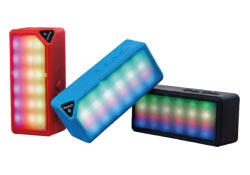 Mini-altavoz Bluetooth multimedia con luces led de colores