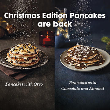 Christmas Edition Pacakes are back