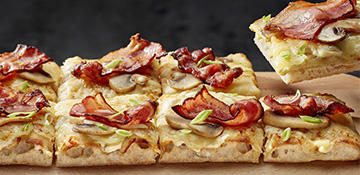 Nueva Pizza <span> Bacon&Cream </span>