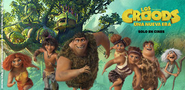 Menú Infantil Exclusivo <br> Croods 2