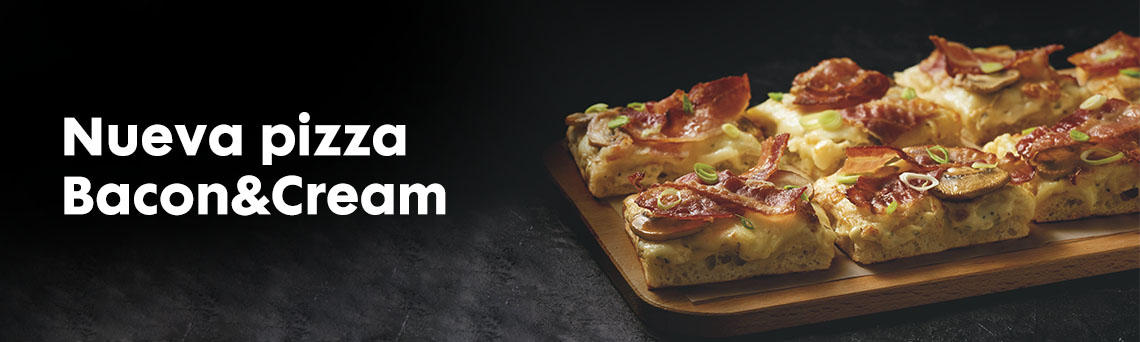 Nueva Pizza Bacon&Cream